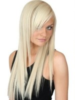 Extensii Clip-On Blond Platinat #60