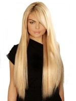 Extensii Clip-On PREMIUM Blond Gri #613